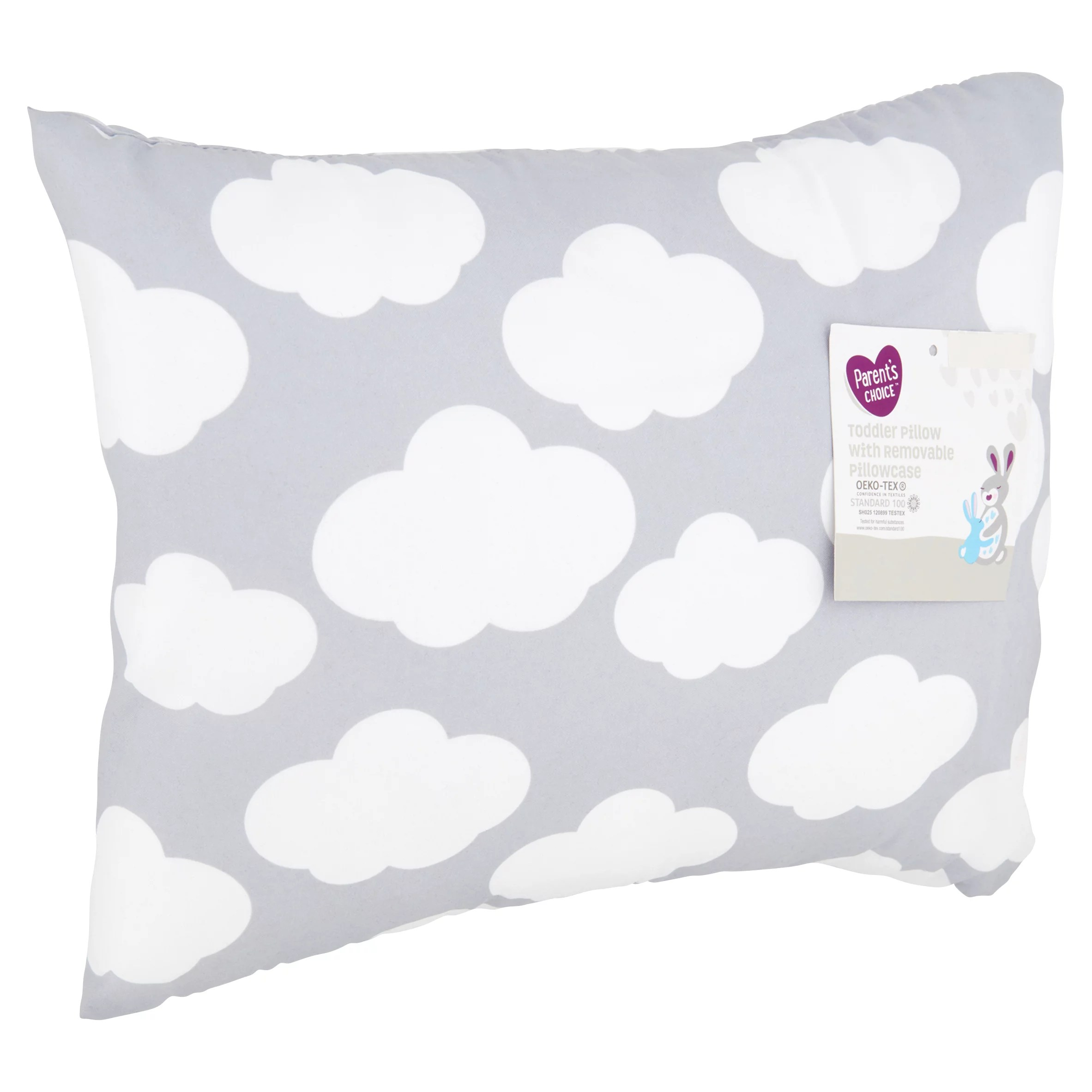 parent s choice toddler pillow with removable pillowcase