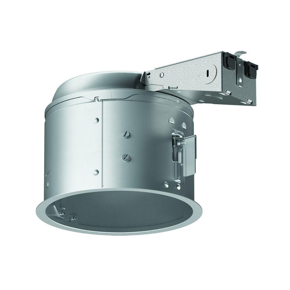 halo e26 6 in aluminum recessed lighting housing for remodel shallow ceiling insulation contact air tite new open box walmart com