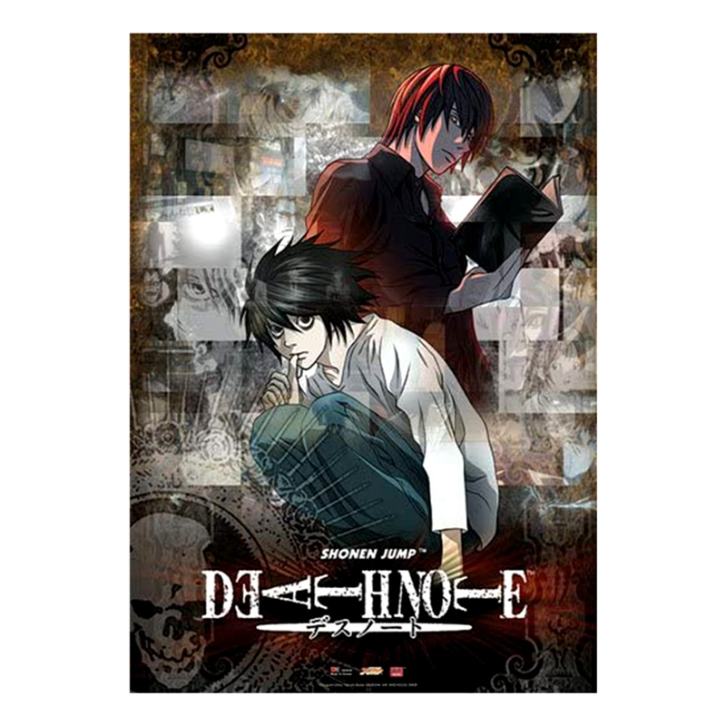 yaoping japan anime death note poster cartoon wall hanging picture home office decoration xl