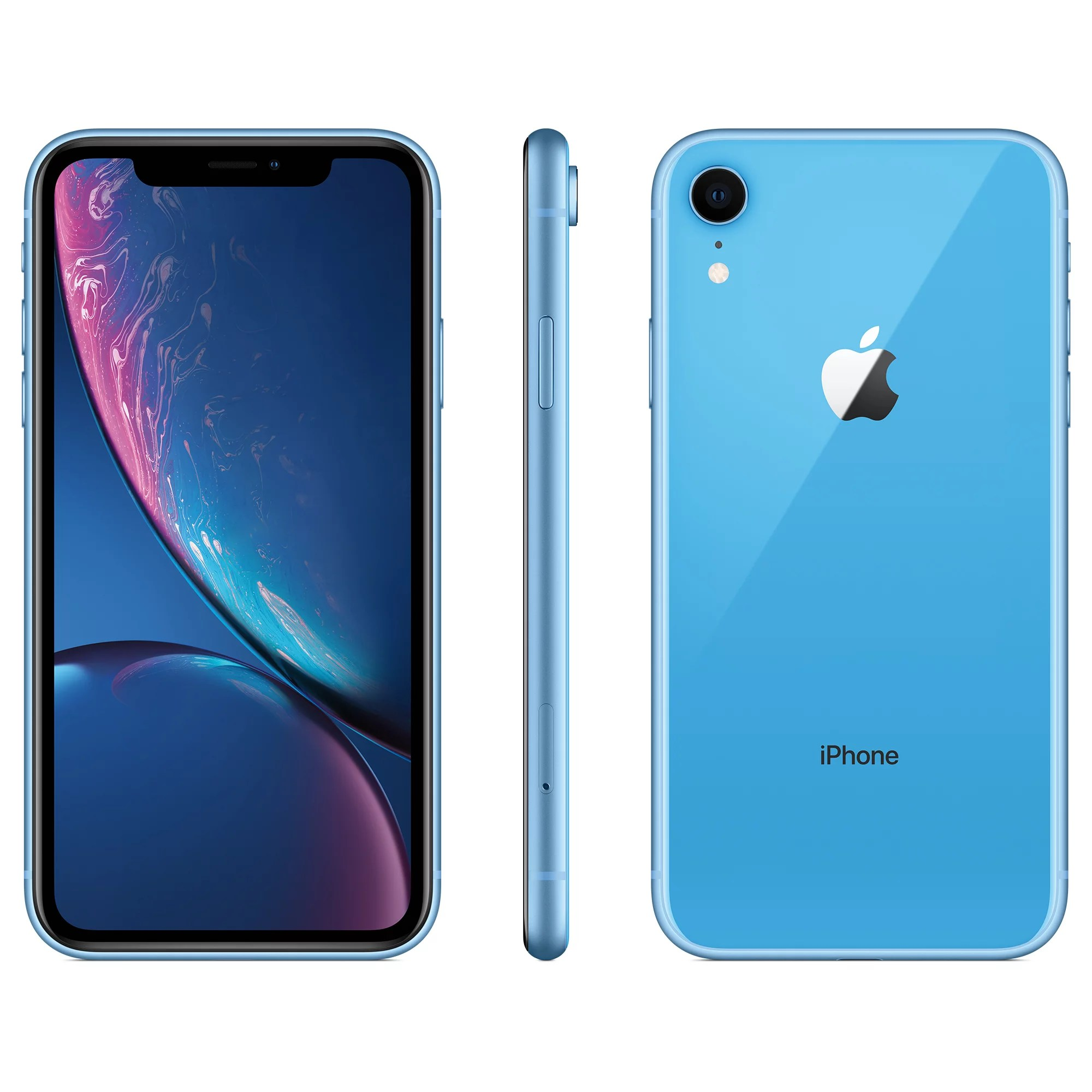 iPhone XR 64GB Blue (Unlocked) Refurbished A+