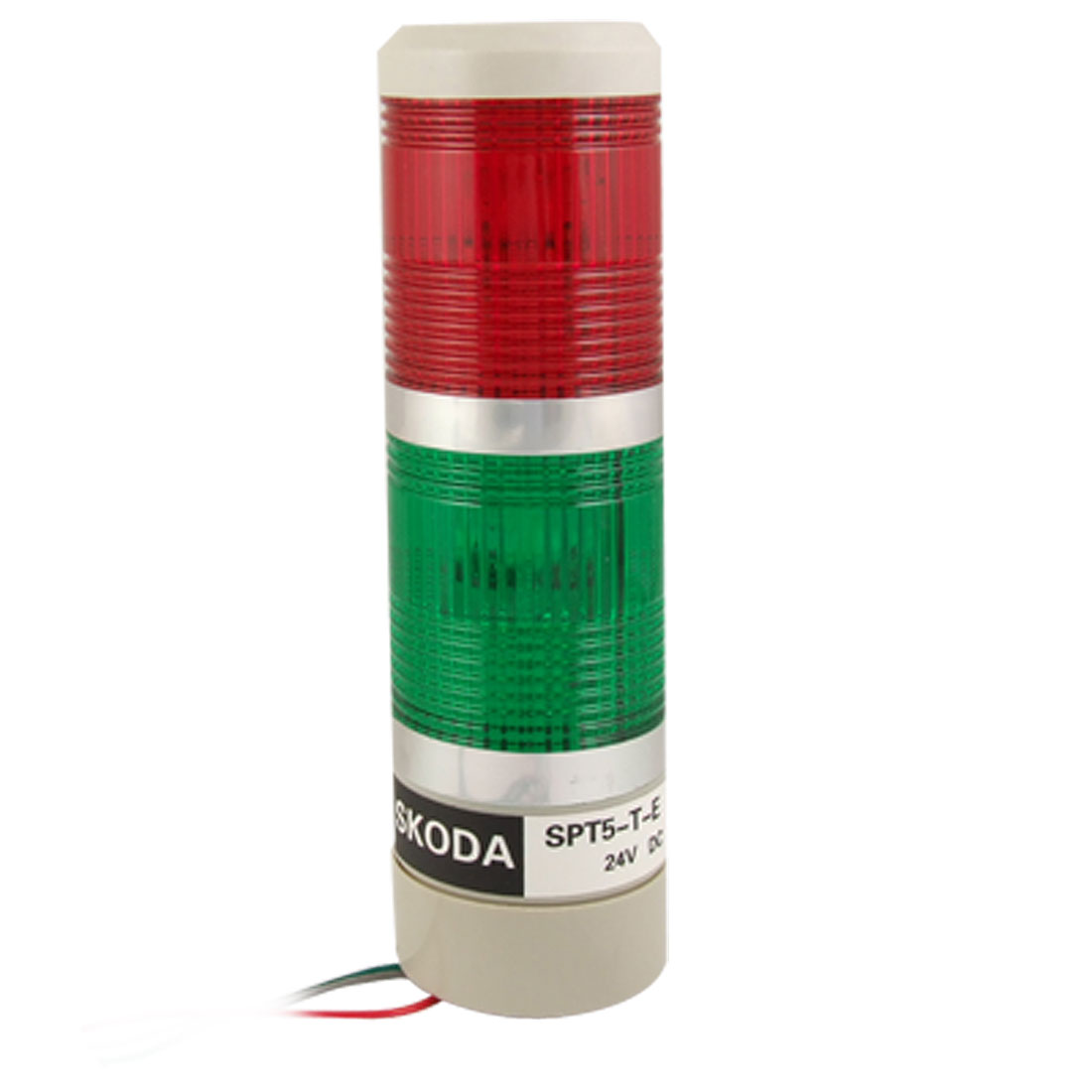 Industrial Safety Red Green Stack Signal Lamp Tower Alarm