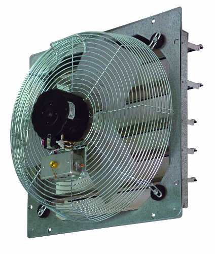 tpi corporation ce10ds 10in shutter mounted direct drive exhaust fan