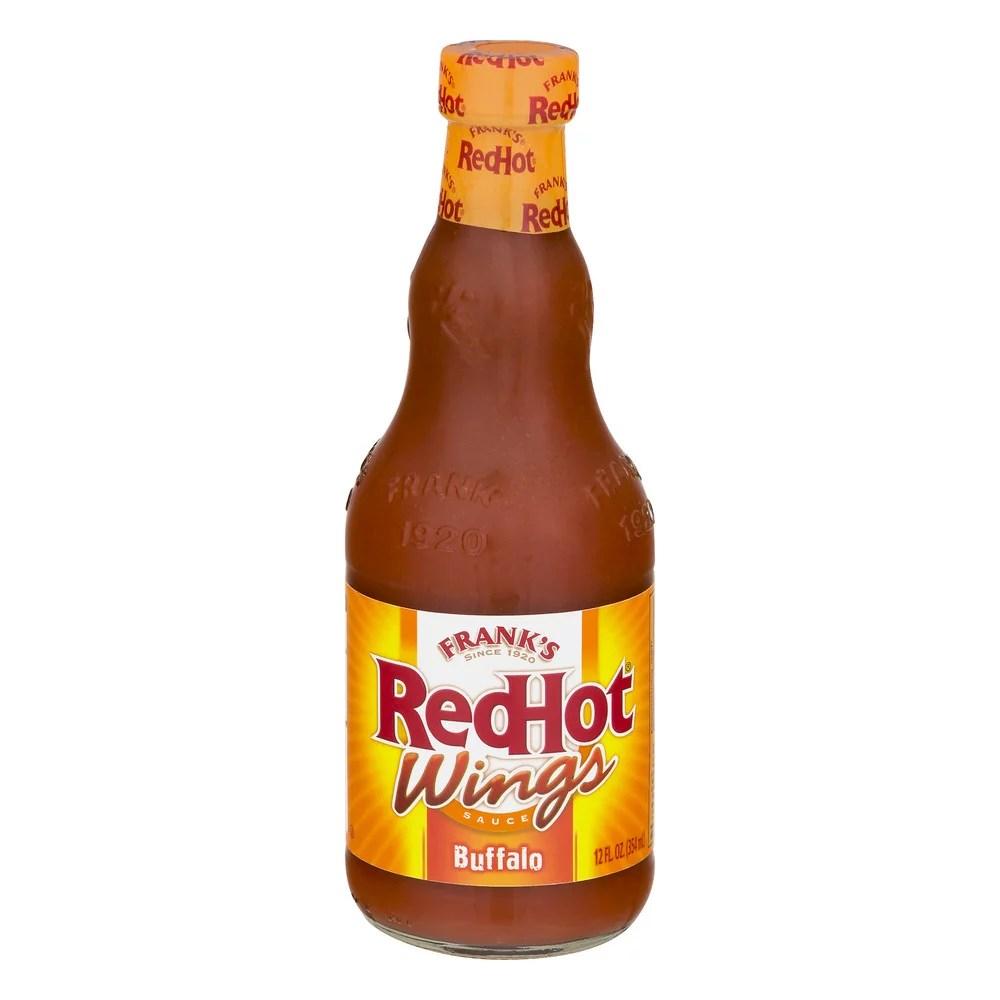 Frank's Red Hot Buffalo Wing Sauce, 12 oz - Walmart.com