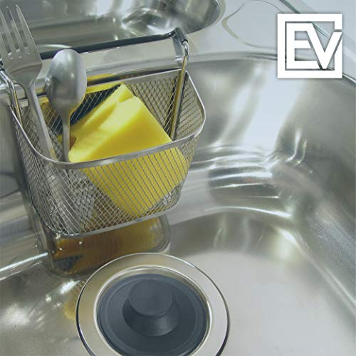sink stopper black plastic kitchen sink garbage disposal drain stopper fits kohler insinkerator waste king others by essential values