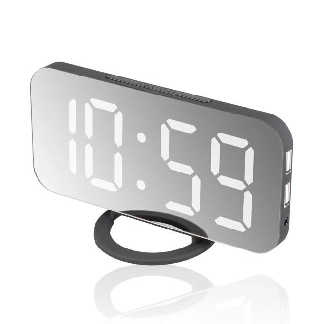 Alarm Clock Large Digital Led Display