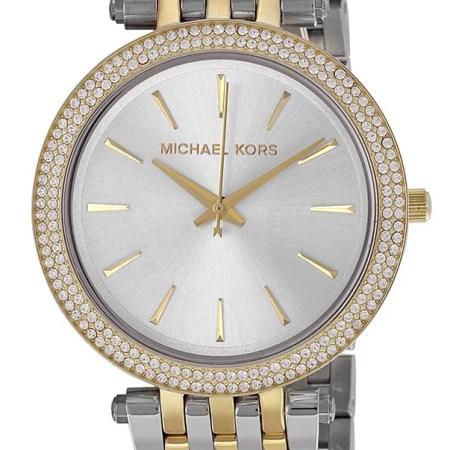 Michael Kors Women's Darci Two-Tone Stainless Steel Bracelet Watch