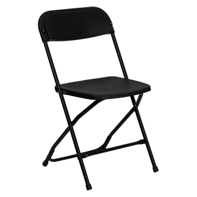 Flash Furniture HERCULES Series 800 lb Capacity Premium Plastic Folding Chair, Multiple Colors