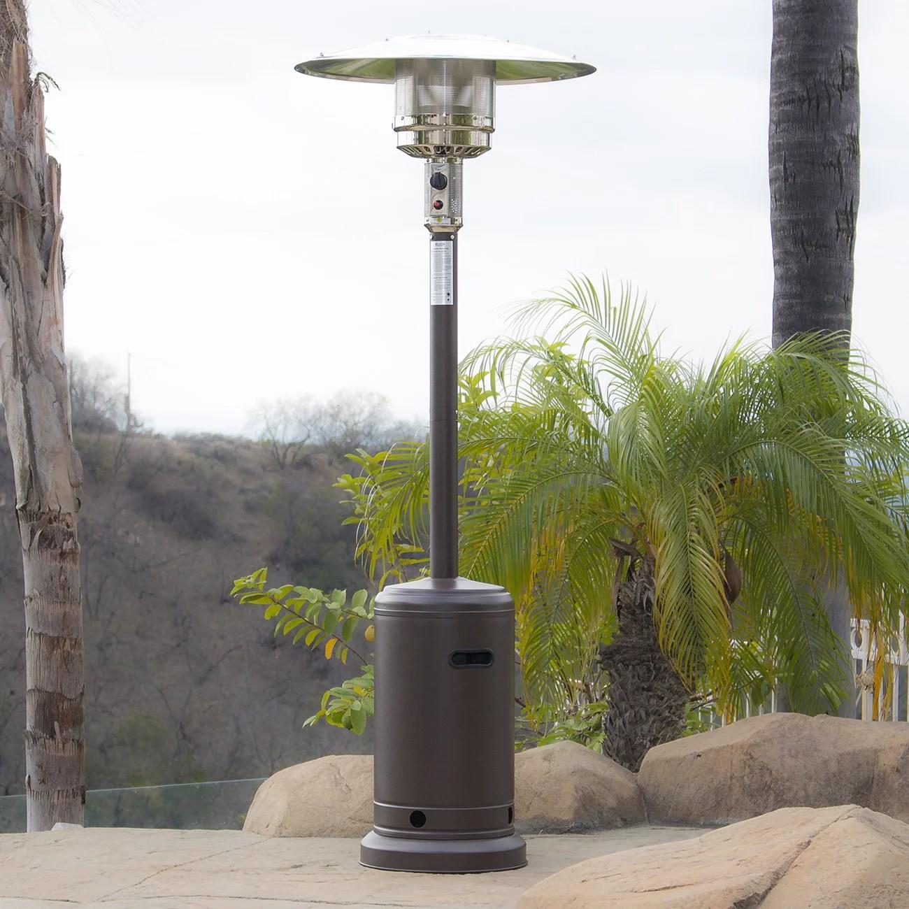 patio heaters w wheel steel new 48 000