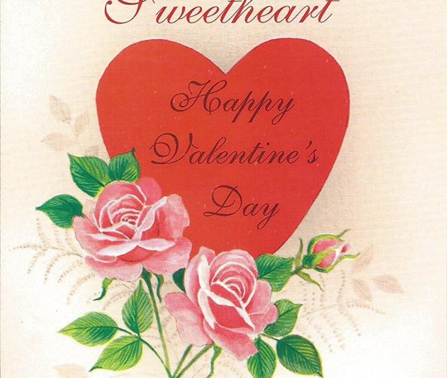 A Special Greeting For You Sweetheart Happy Valentines Day V Cover A