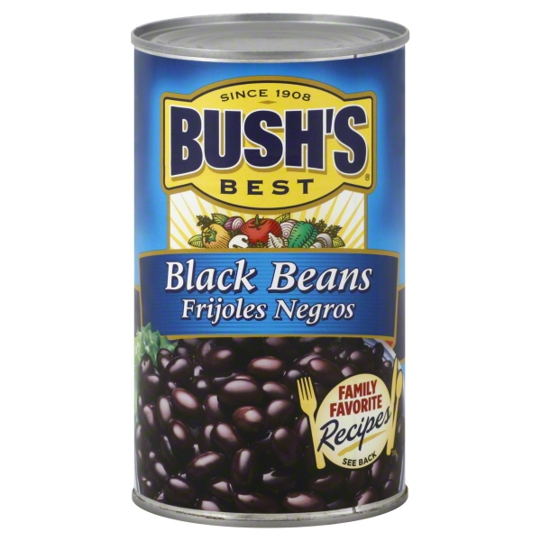 Can Black Beans Bushs Oz 8