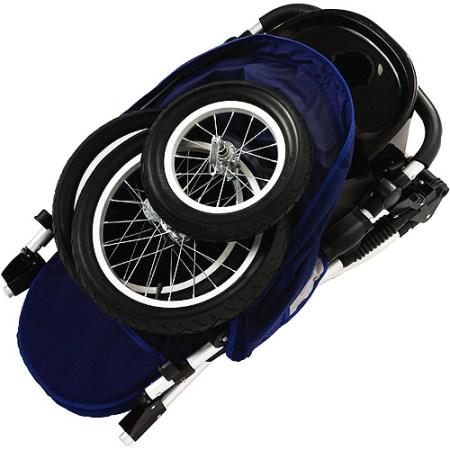Schwinn Free Wheeler Jogging stroller Blue/Gray