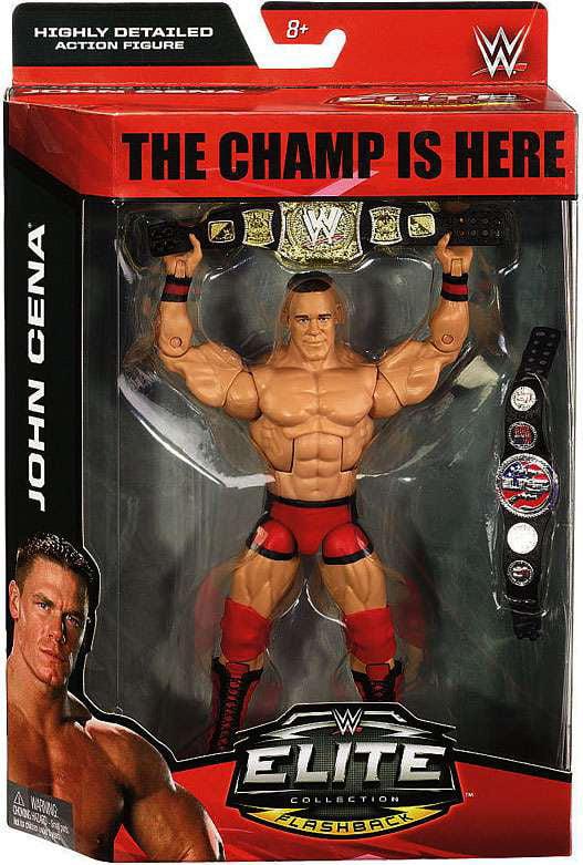 Wwe Wrestling Elite Debut John Cena Action Figure Walmart Com