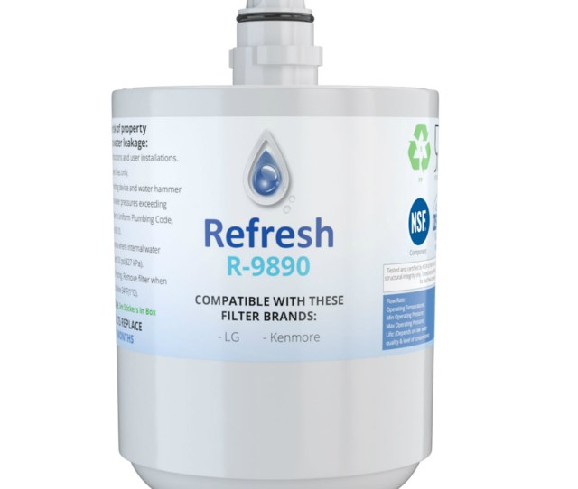 Replacement For Lg Lfx25974st Refrigerator Water Filter By Refresh Walmart Com
