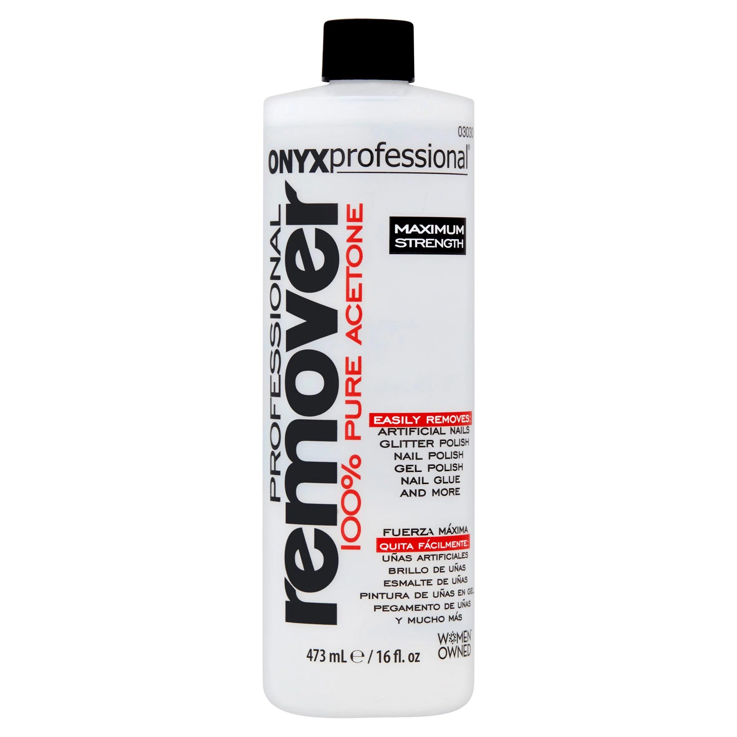 Onyx Professional Maximum Strength Nail Polish Remover 16 Fl Oz Walmart