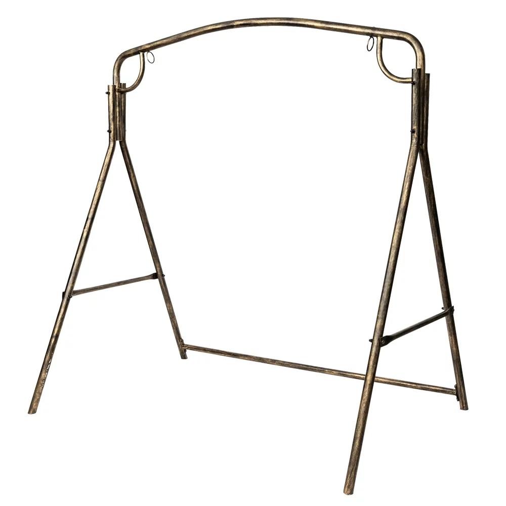 outdoor garden iron art swing frame urhomepro heavy duty metal a frame swing frame for outdoor saucer platform swing stand frames for patio porch