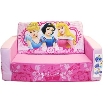 Disney Princess Flip Open Sofa Bed   Walmart com Disney Princess Flip Open Sofa Bed