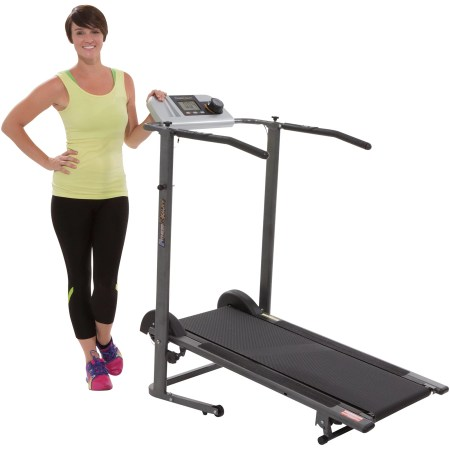 Fitness Reality TR3000 Maximum Weight Capacity Manual Treadmill with 'Pacer Control' and Heart Rate System