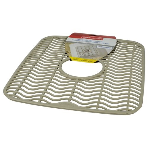 rubbermaid small sink protector tan