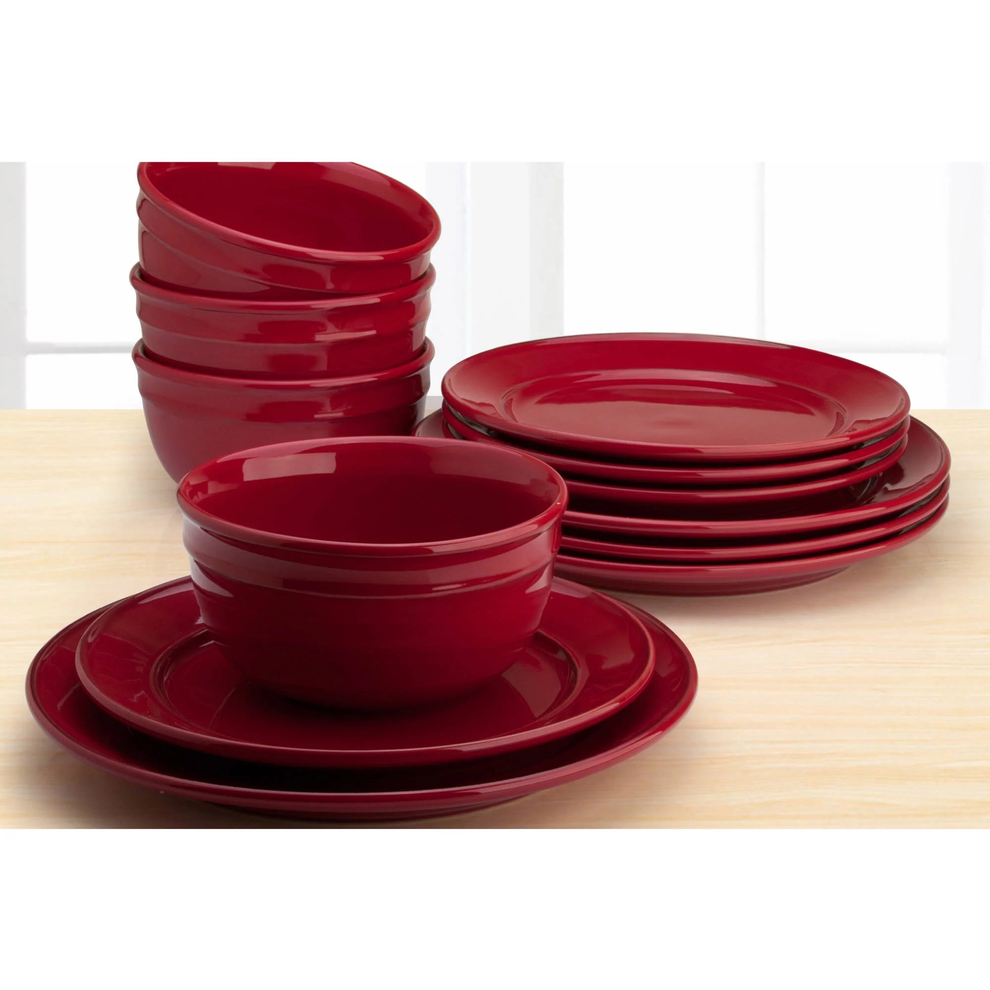 Walmart Better Homes And Gardens Dinnerware
