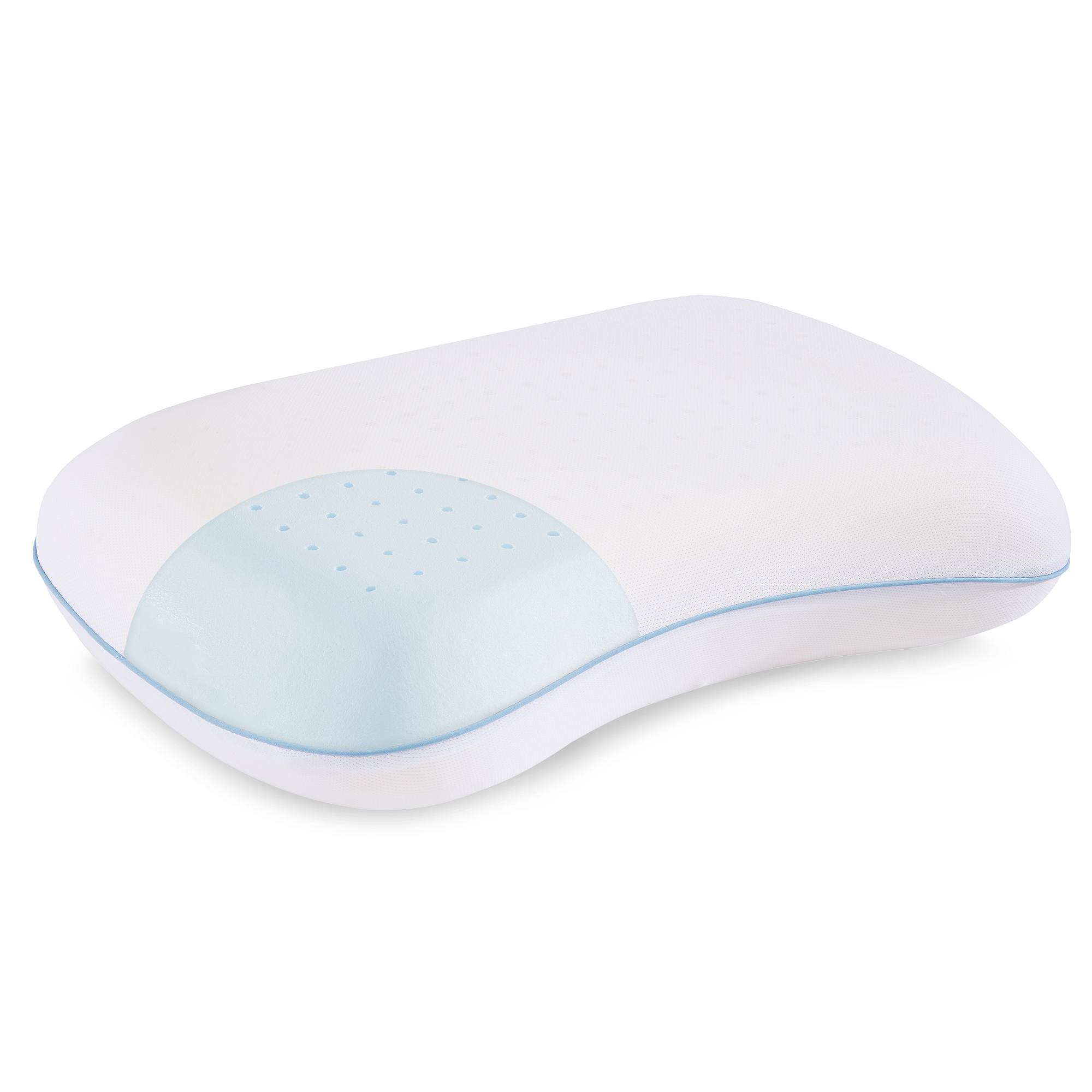 dream serenity ergo shape comfort memory foam pillow 1 each
