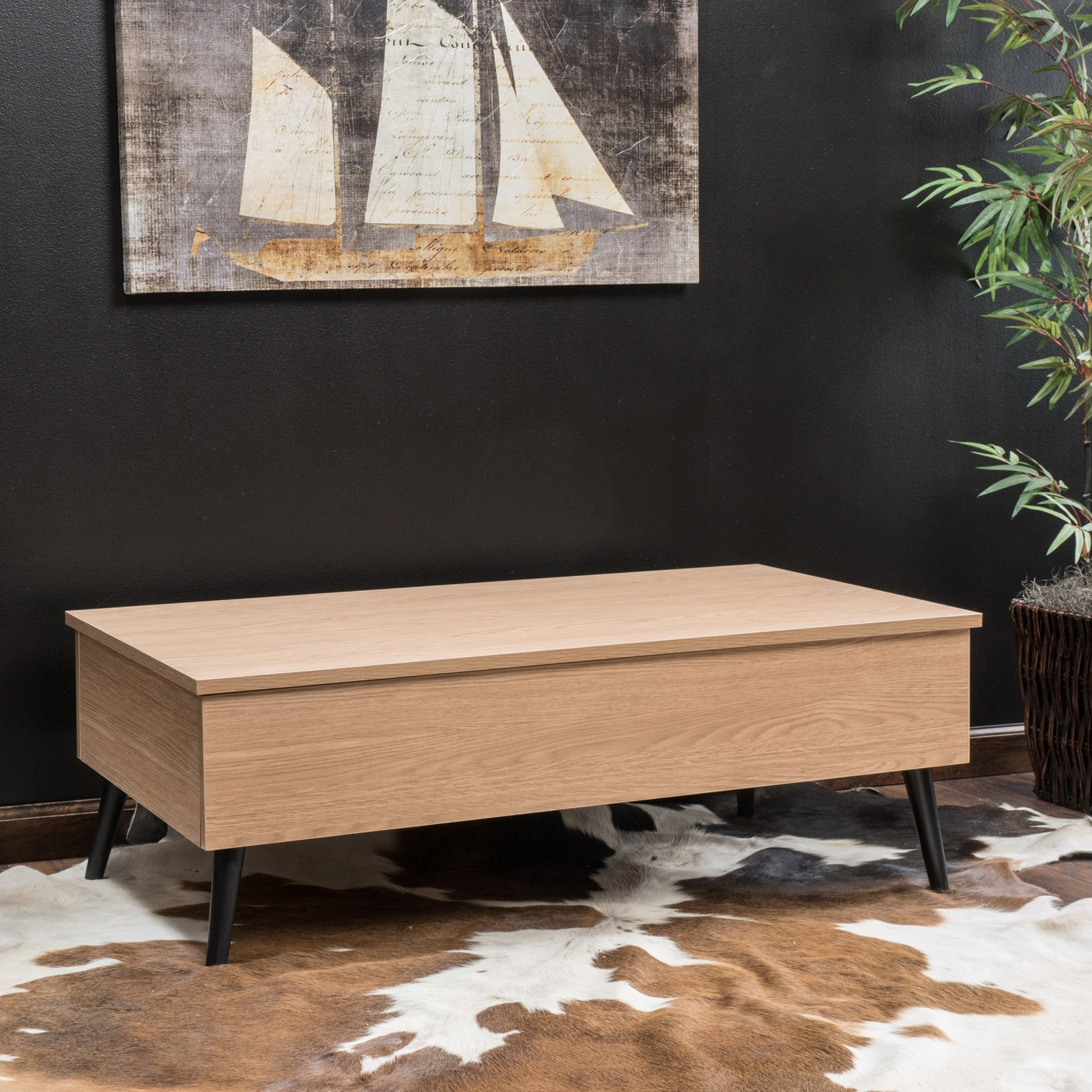 henry lift top coffee table