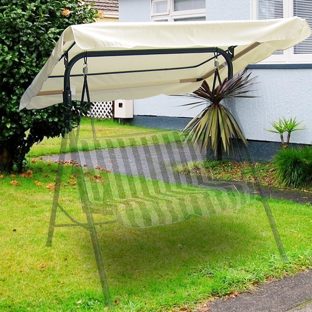 yescom 76 x 44 patio swing canopy replacement porch top cover walmart com