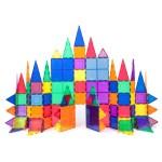 Picasso Tiles 100 Piece 3d Color Magnetic Building Block Stem Set Walmart Com Walmart Com