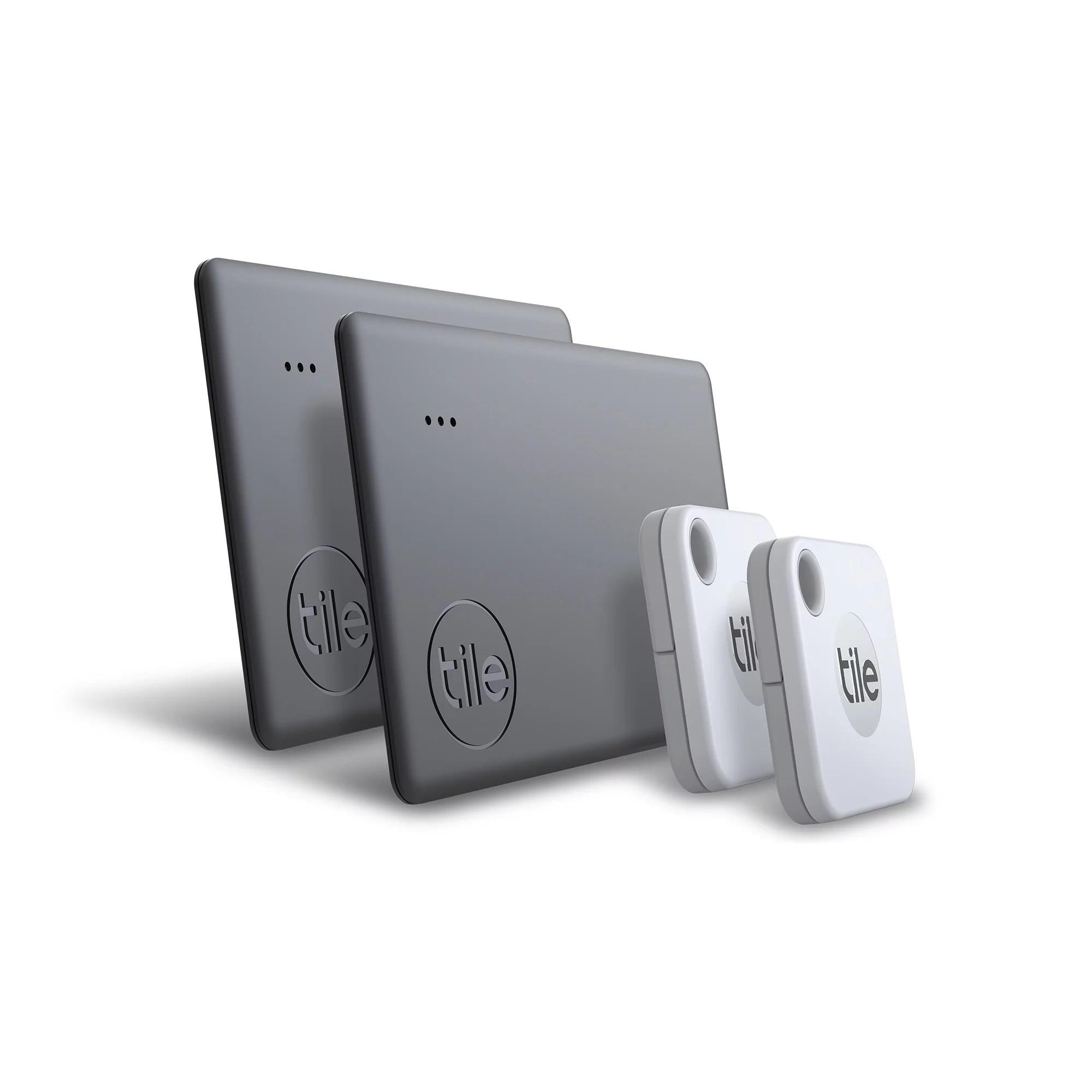 tile re 19004 mate 2020 item tracker 4 pack white gray