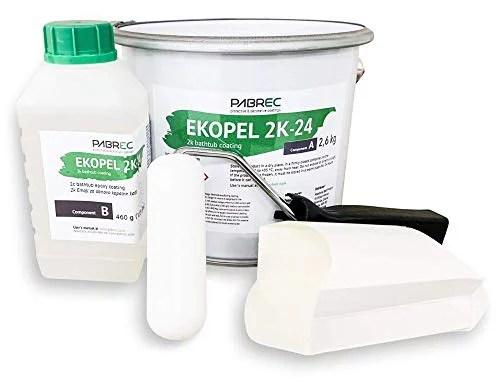 rust oleum 7860519 tub and tile refinishing 2 part kit white 2 pack