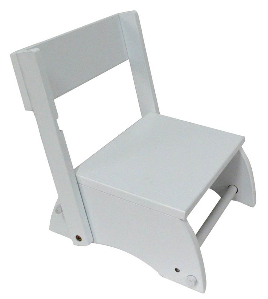 Teamson Kids Small Step Stool In White The Windsor Collection Walmart Com