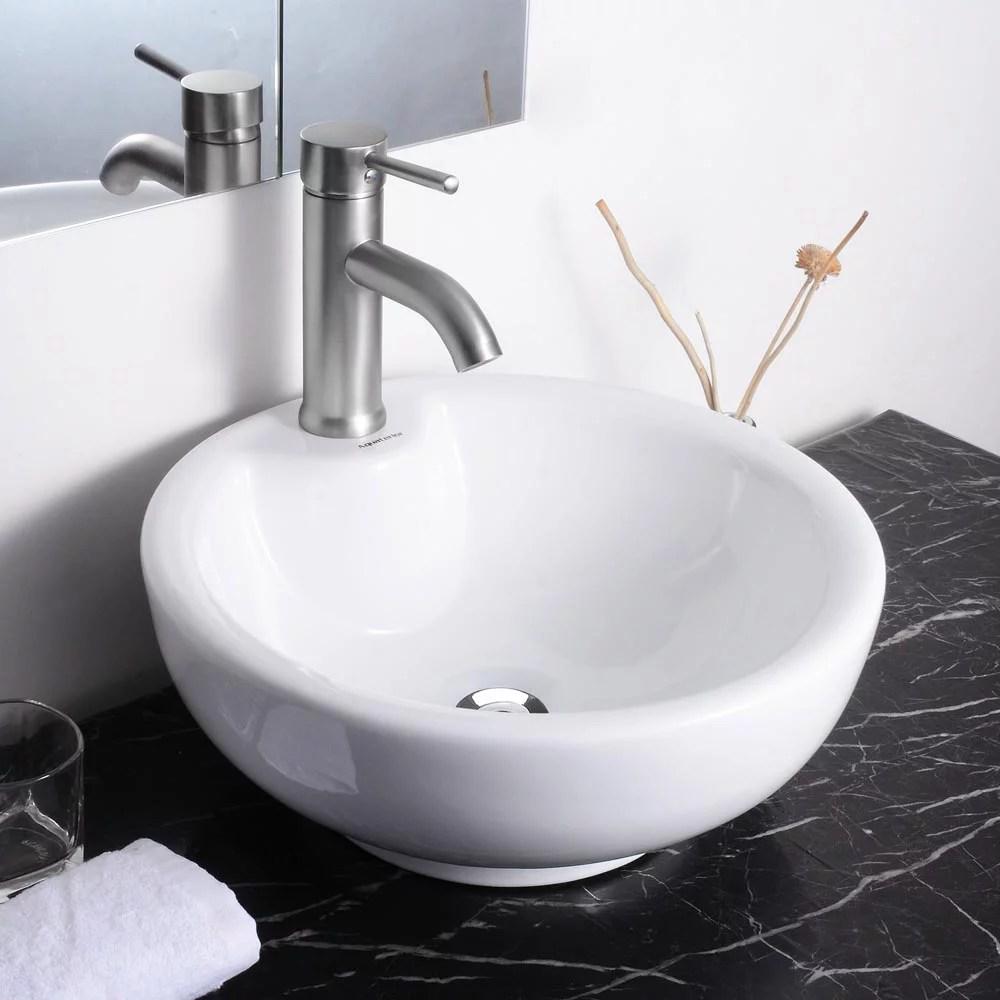 aquaterior round porcelain bathroom