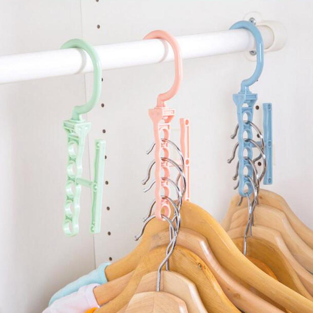 5Hole Space Saver Wonder Magic Hook Hanger Closet ... on Closet Space Savers Walmart  id=15741