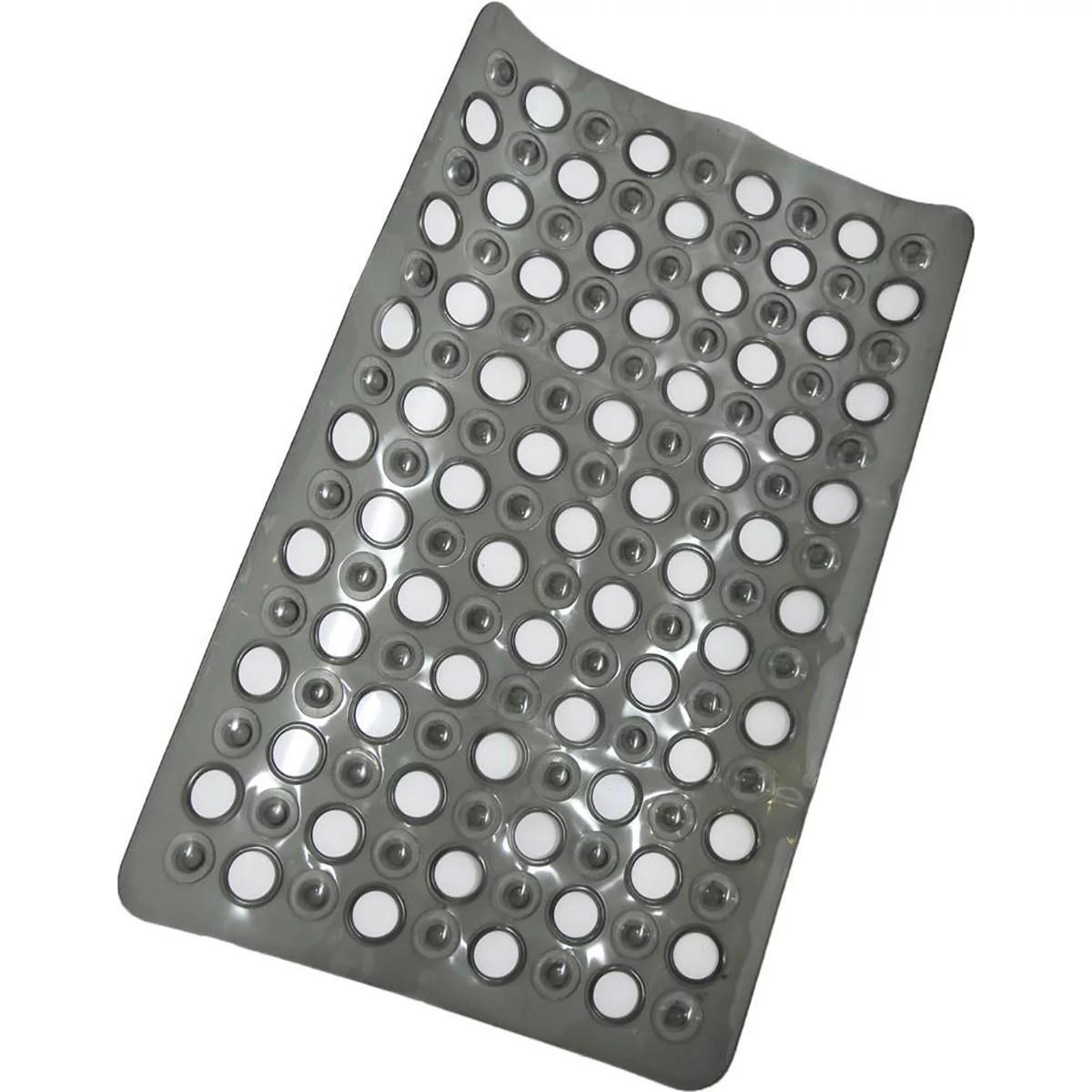 non skid bath bathtub mat with holes 23 5 esx 15 es solid on farmhouse colors for bath mats walmart id=42468