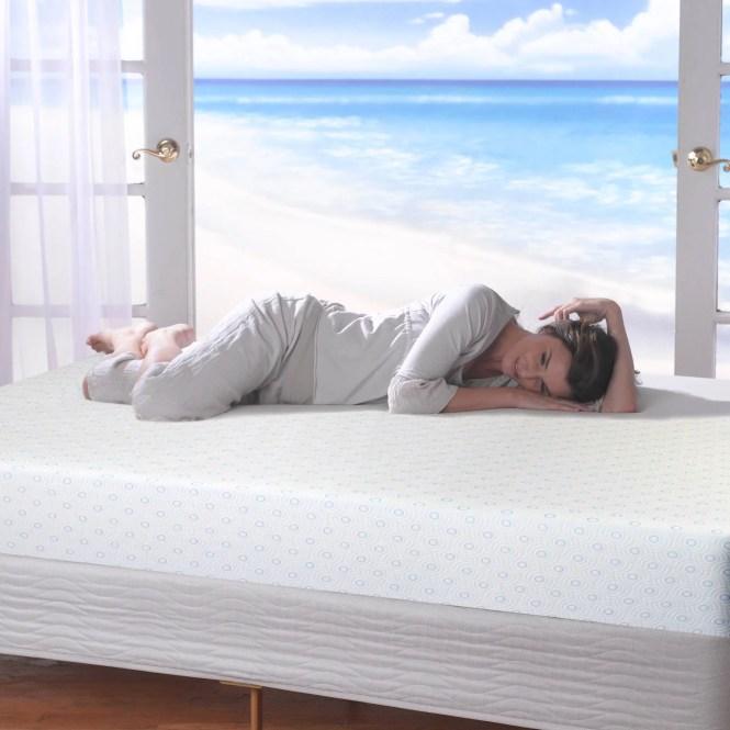 Spa Sensations 8 Mygel Memory Foam Mattress With Smart Base Set Multiple Sizes