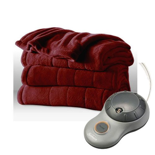 Sunbeam Heated Plush Electric Blanket Walmart Canada