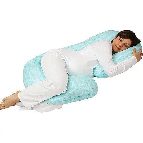 side sleeper contour snuggle pillow by somerset home