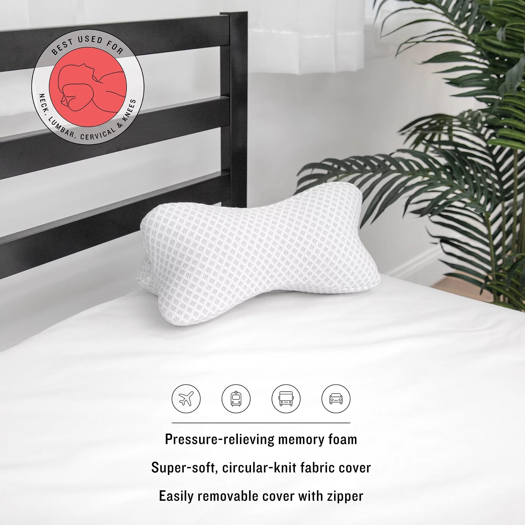 sensorpedic memory foam pillows