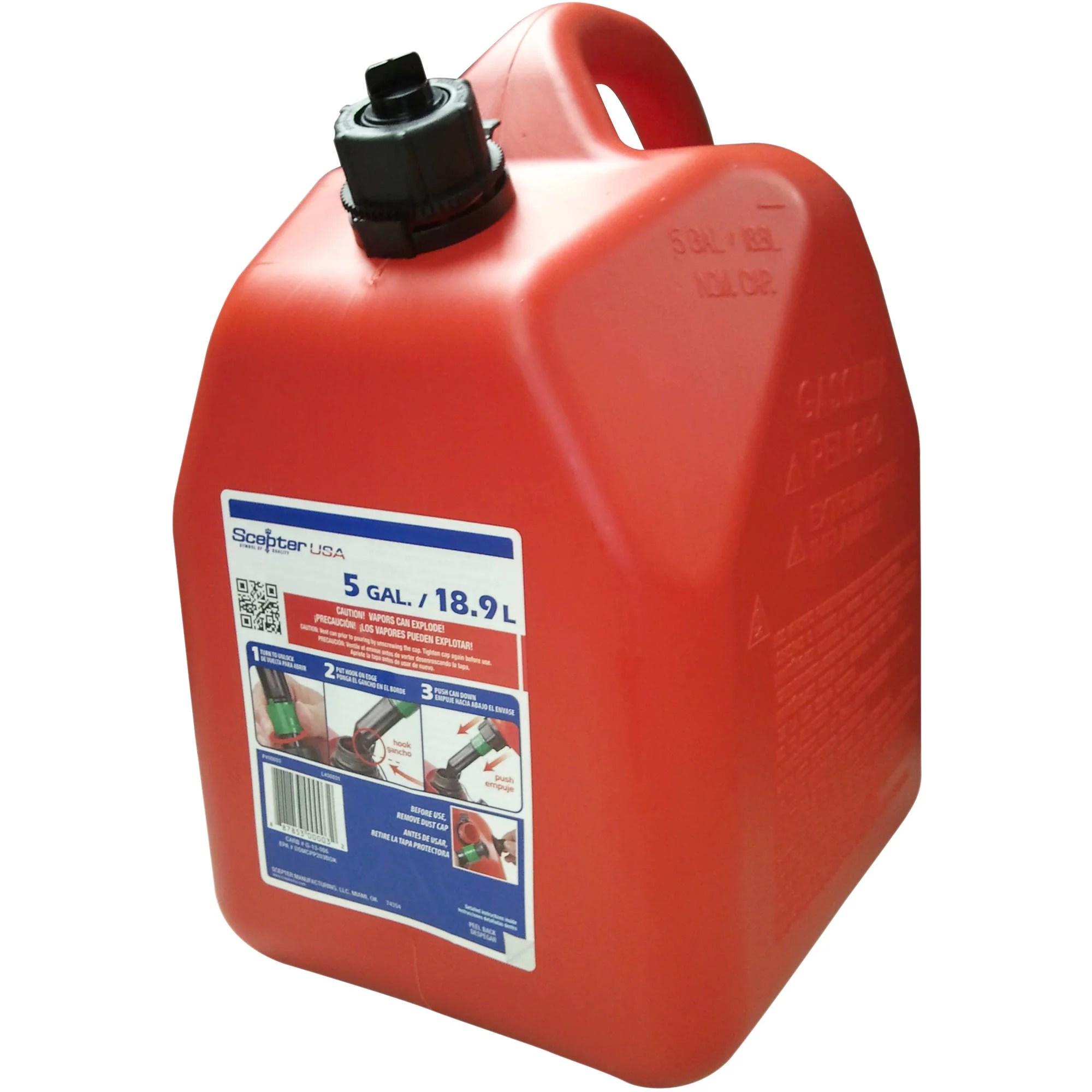 Spout Gallon 3 Can No Walmart Gas Saftey