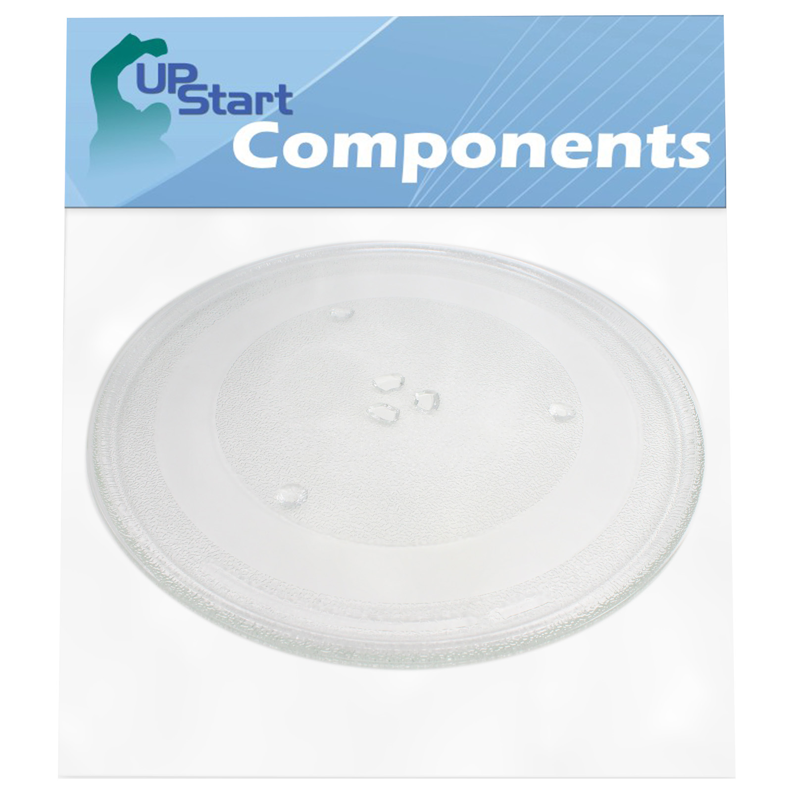 5304464116 microwave glass turntable plate replacement for frigidaire ffmv164lsa compatible with 5304509621 13 5 inch glass tray