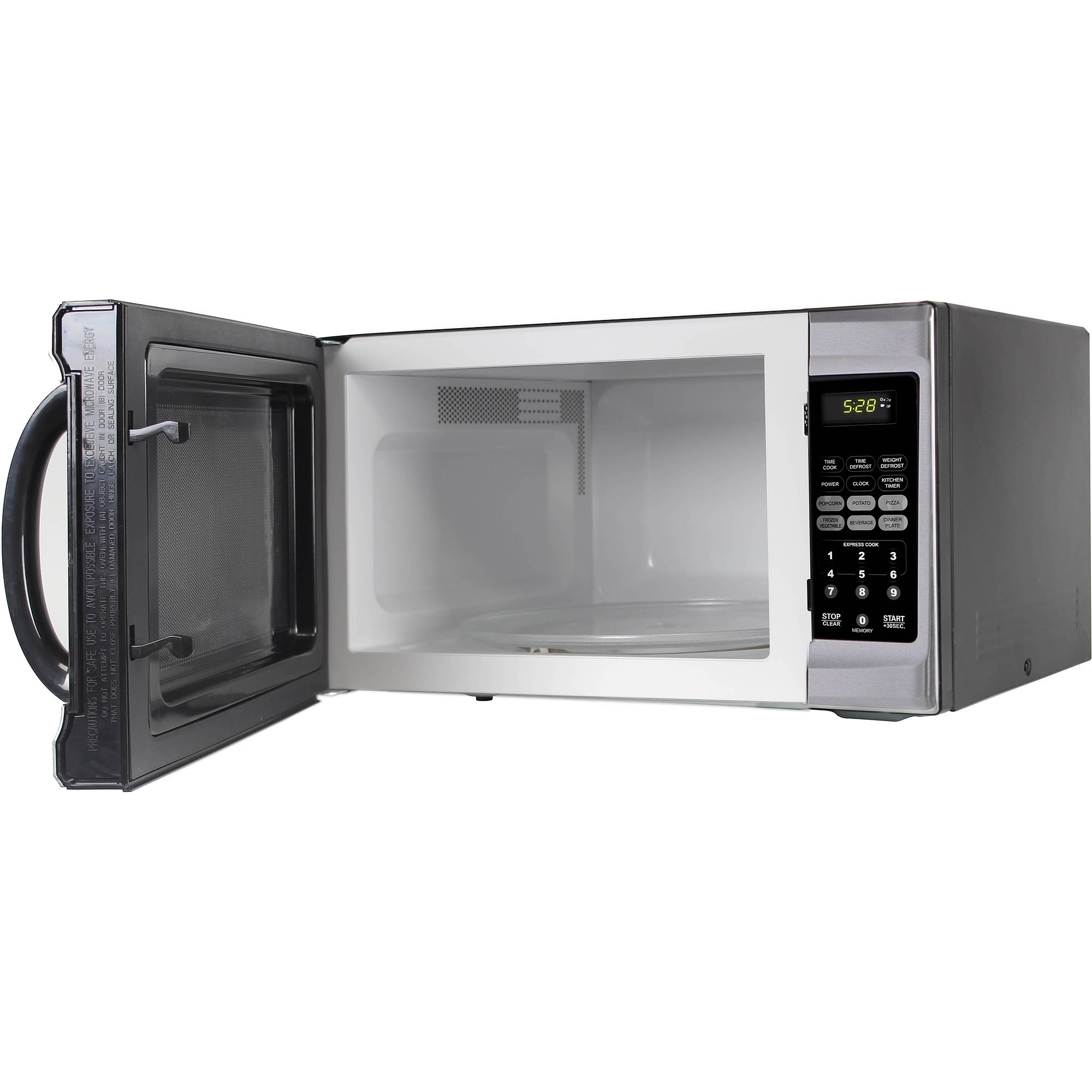 refurbished emerson 1 3 cu ft 1000 watt touch control microwave oven stainless steel