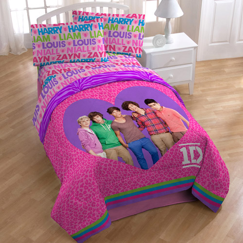 License One Direction Twin Full Comforter Walmart Com