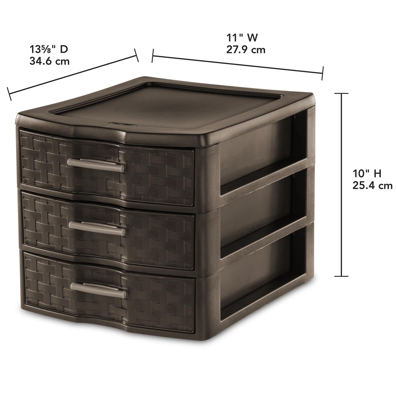 Orange Sterilite Storage Containers