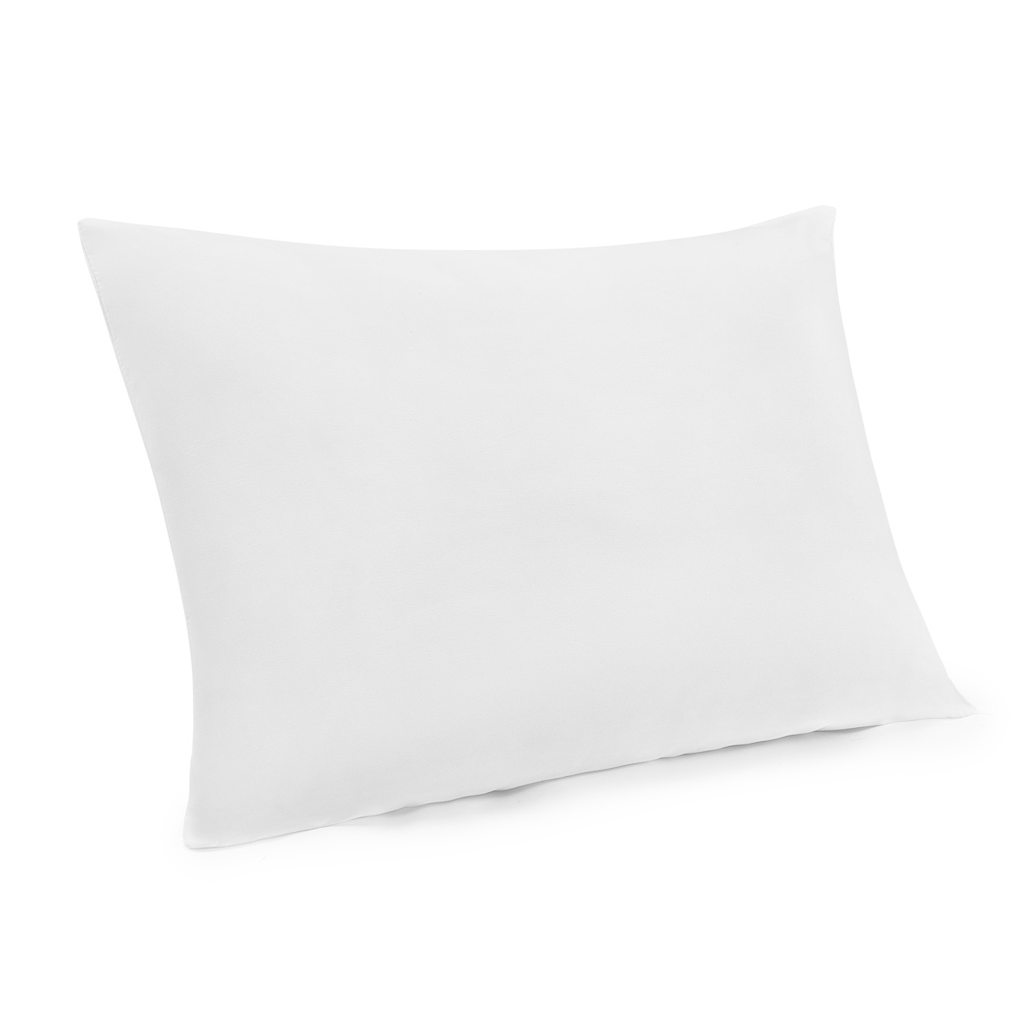 mainstays 100 polyester travel pillow 14 x 20 in white set of 2