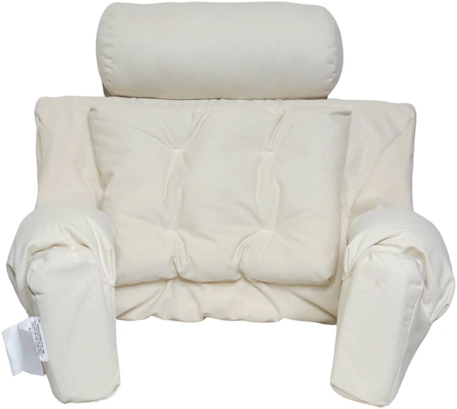 pillow for sitting up in bed walmart