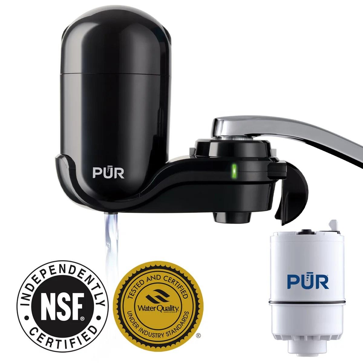pur faucet water filter fm 2000b black