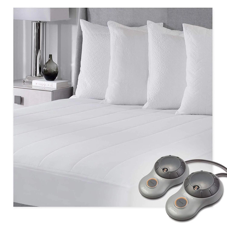 sunbeam heated mattress pad queen walmart com