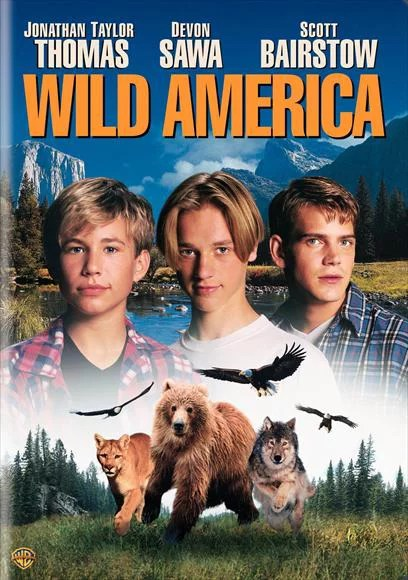Wild America – movie POSTER (Style B) (27″ x 40″) (1997)