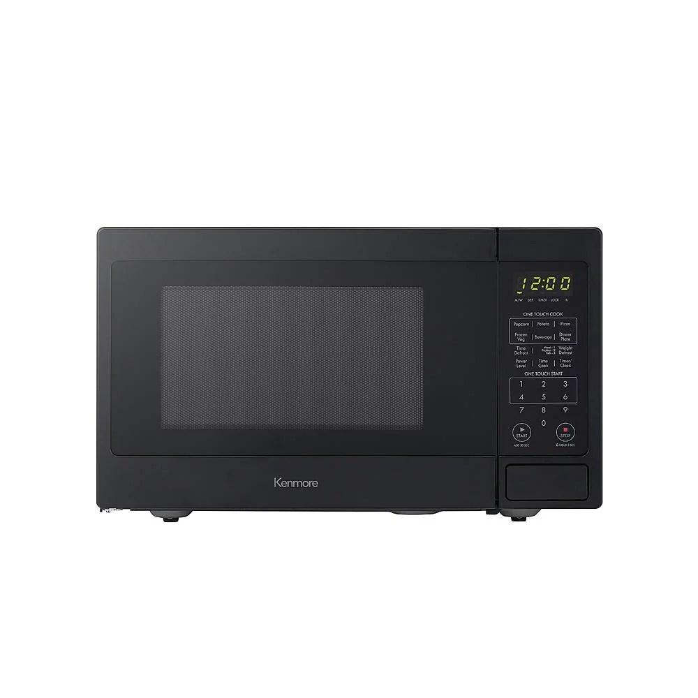 kenmore 70919 countertop microwave oven 0 9 cu ft black walmart com