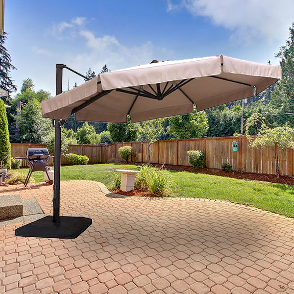 garden winds replacement canopy to for menards 11ft offset umbrella