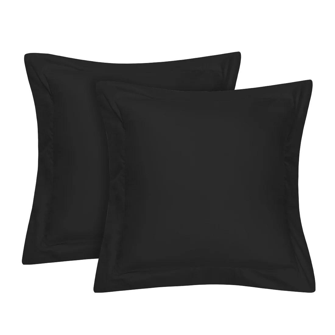 pillow shams black walmart com